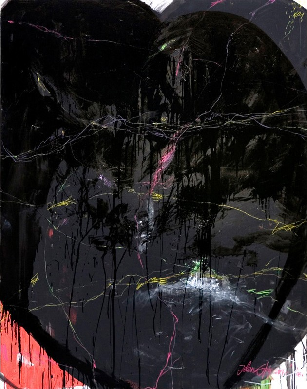 Black Heart by Jelena Djuric