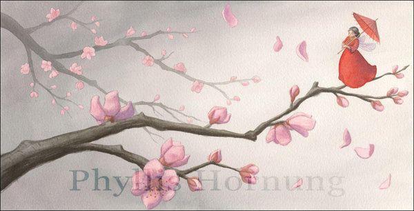 Cherry Blossom by Phyllis Hornung